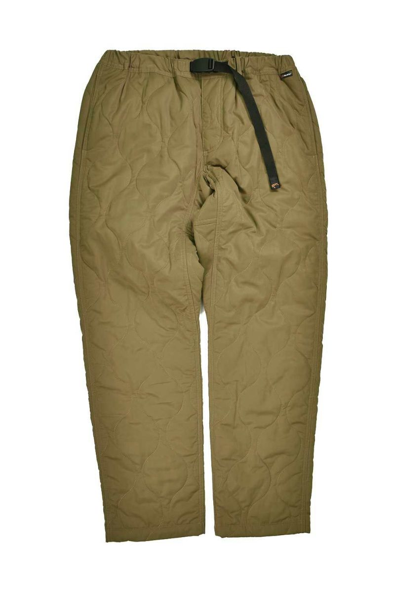 QUILT WORK PANT insulated POLARTEC® POWER FILL | キルトワークパンツインシュレーテッド ポーラテックパワーフィル
